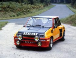 RALLY - RENAULT 5 TURBO TESTS ON THE MONTLHERY CIRCUIT