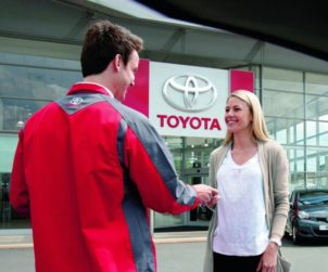 Toyota servis 2