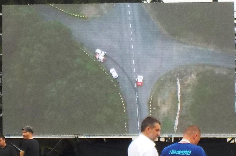 Mali N posle mostića perspektiva iz drona