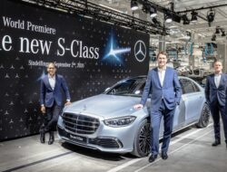 Weltpremiere der neuen Mercedes-Benz S-Klasse in der Factory 56// World premiere of the new Mercedes-Benz S-Class at Factory 56