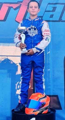 Nemanja Neca Jovanović Ada Huja I mesto šampionat Srbije 6. IX 2020