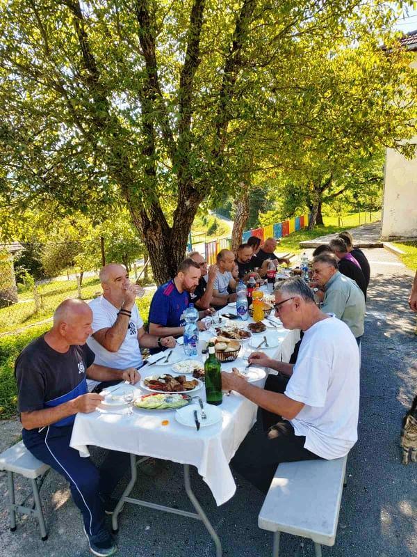 Ručak u Bistrici