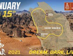 Mapa Dakar 2021