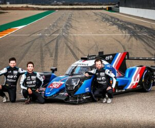Alpine A480 - Tests Sessions on the Motorland circuit