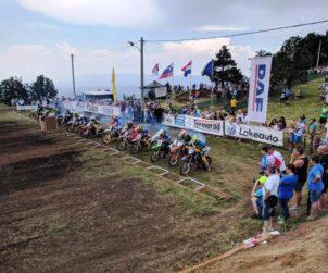 Start trke klase MX 85 Jeljen 2010