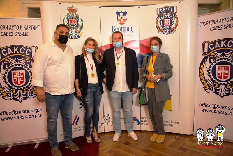 Dejan Čolović, Sanja Novaković, Nikola Jović i Tatjana Milošević