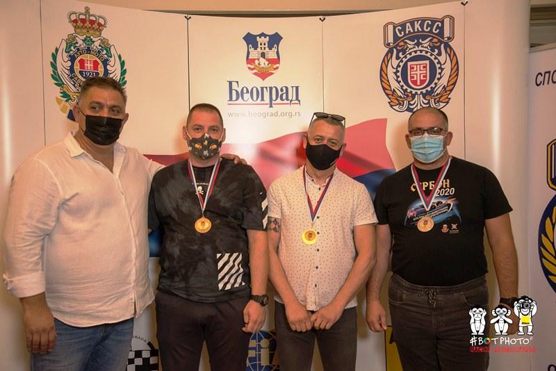 Dejean Čolović, Miodrag Nešić, Dragan Lukić i Miloš Ivković
