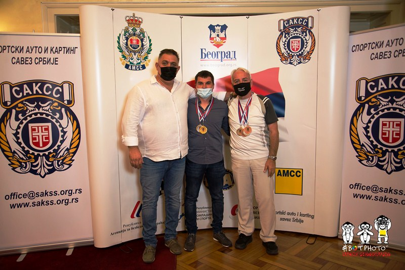 Dejan Čolović, Uroš Brkić i Nebojša Janošević