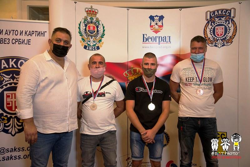 Dejan Čolović, Goran Milić, Predrag Milič i Goran Kemiveš