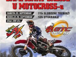 Najava moto kros trke MX Trešnjari 2021