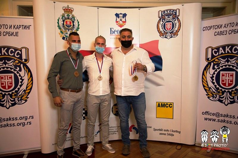 Petar Miloradović, Dušan Nastasijević i Dejan Čolović