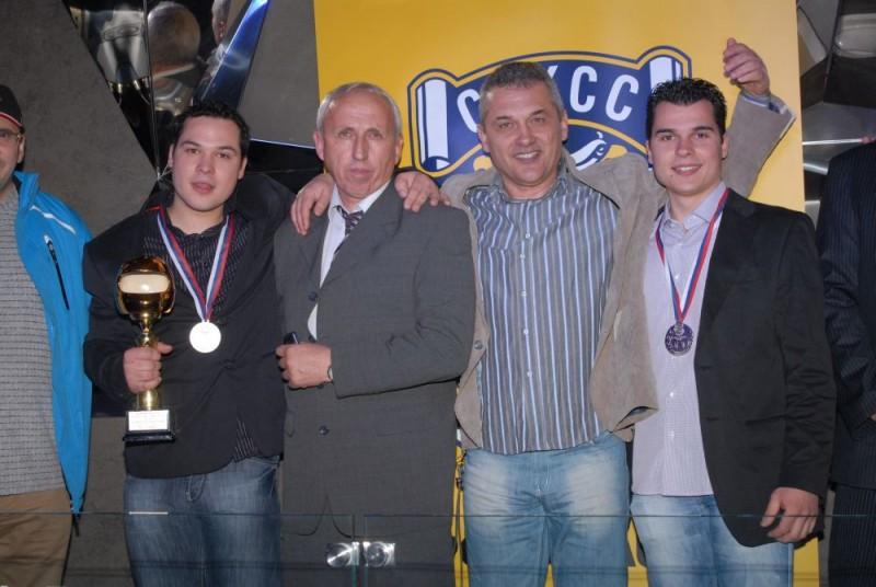 ČUVARI TRADICIJE Miloš Brkić, Vesko Prlainović, Čedomir i Uroš Brkić