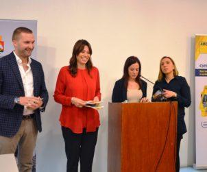 Generalni sekretar AMSS Milan Nikolić i predsednica Gradske opštine Savski venac Irena Vujović