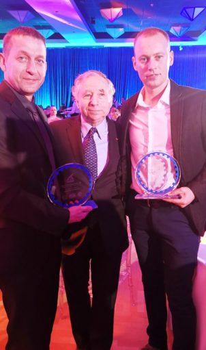 Goran Rabasović, predsednik FIA Žan Tod i Milan Janjić