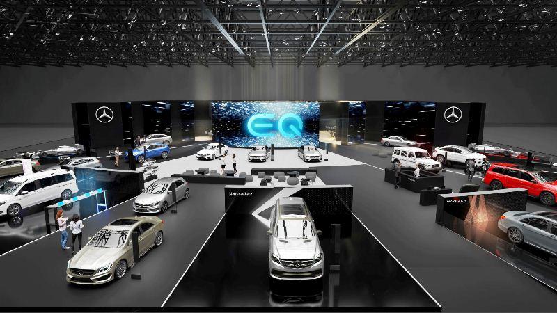 Mercedes-Benz na Salonu automobila u Ženenvi 2020