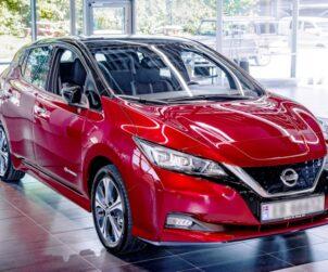 Nissan Leaf 500 000