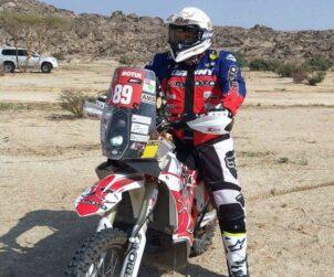 Sagmajster posle prologa Dakar 2021