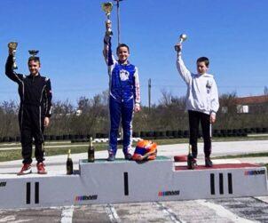 Nemanja Neca Jovanović Haskovo april 2021 I mesto rotaks junior
