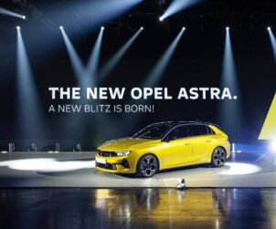 Opel šesta generacija Astre