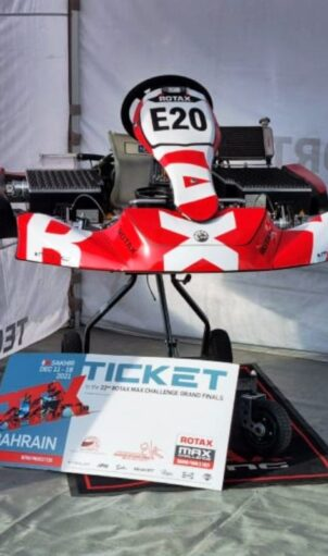 Električni Rotax karting 1